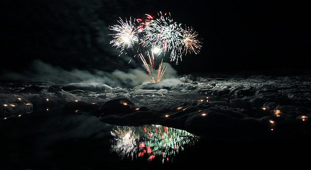 Feuerwerk Header