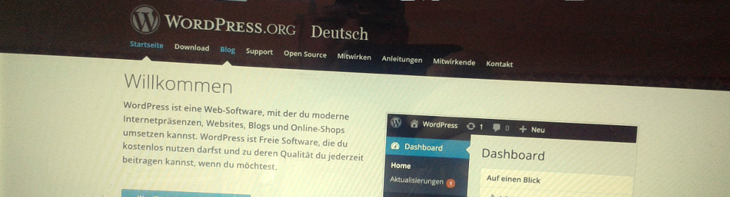 WordPress Header