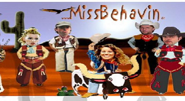 Miss Behavin' Header