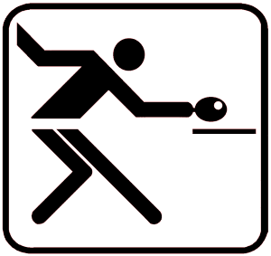 Piktogramm Tischtennis