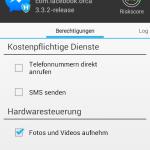 Riskscore Messenger mit Tonaufzeichnung