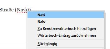Firefox Rechtschreibung 3
